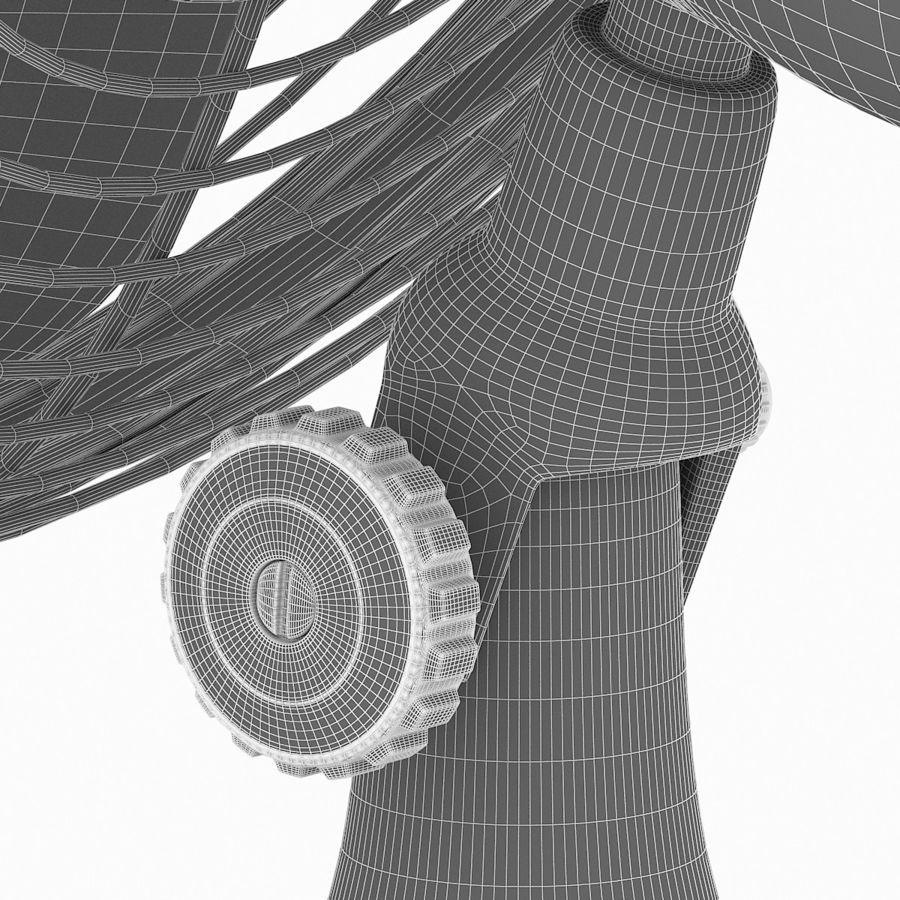 老式风扇 royalty-free 3d model - Preview no. 13