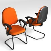 3D Chair 001 3d model