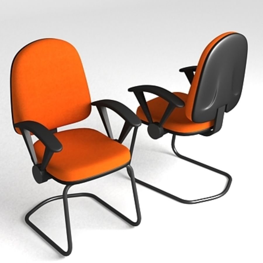 3D Chair 001 royalty-free 3d model - Preview no. 1