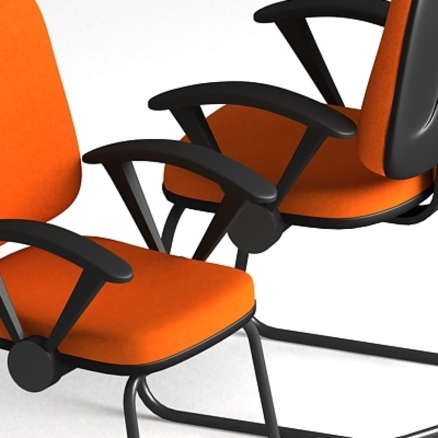 3D Chair 001 royalty-free 3d model - Preview no. 2