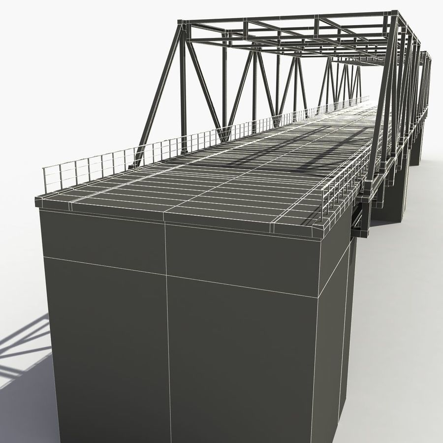 Bridge with metal royalty-free 3d model - Preview no. 13