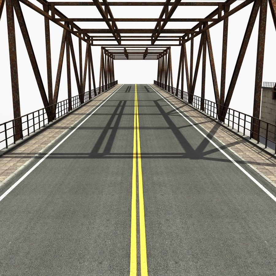Bridge with metal royalty-free 3d model - Preview no. 11