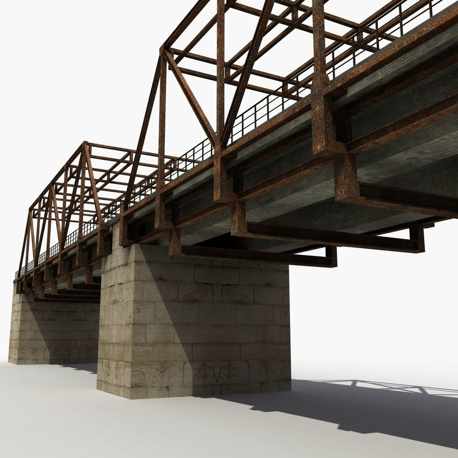 Bridge with metal royalty-free 3d model - Preview no. 7