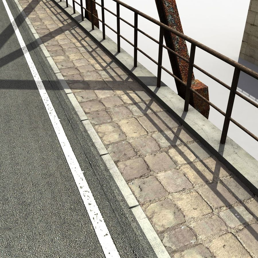 Bridge with metal royalty-free 3d model - Preview no. 10