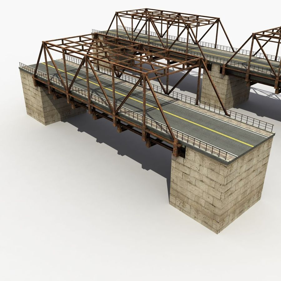 Bridge with metal royalty-free 3d model - Preview no. 5