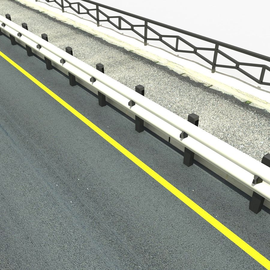 Roads royalty-free 3d model - Preview no. 7