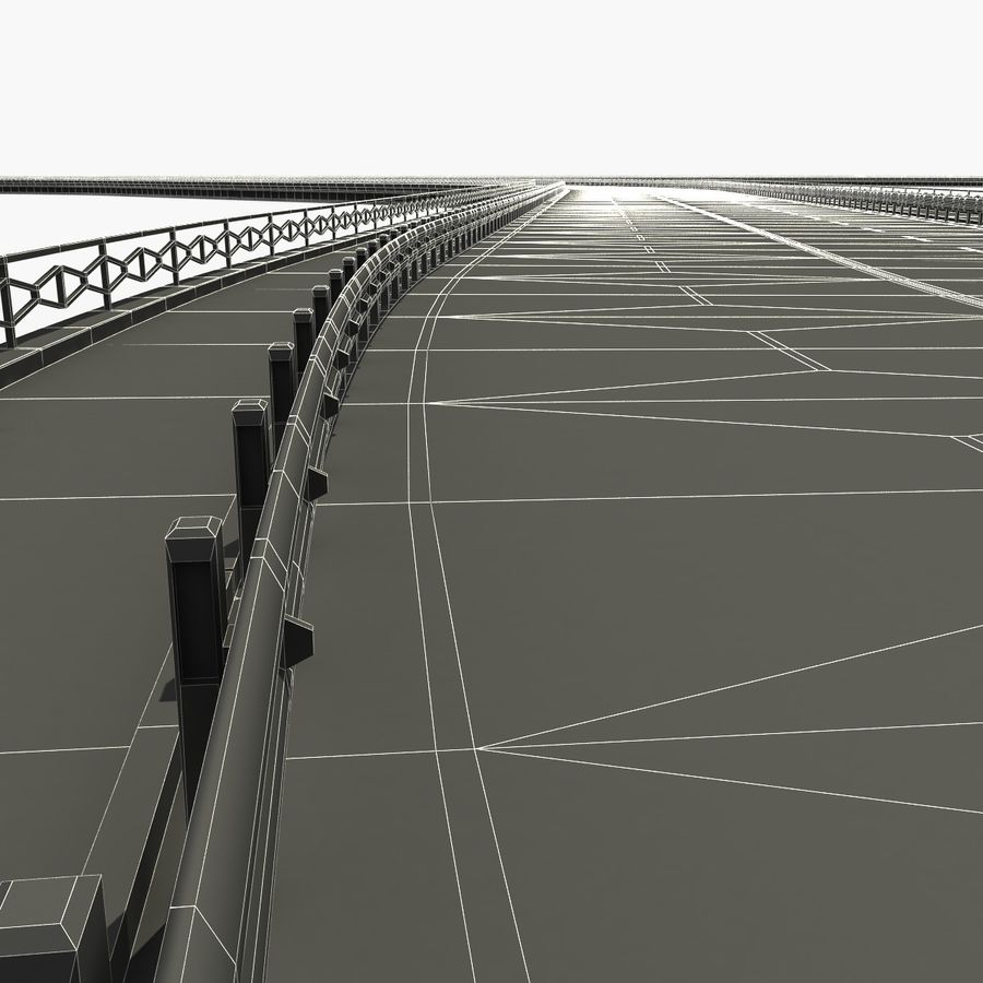Roads royalty-free 3d model - Preview no. 10