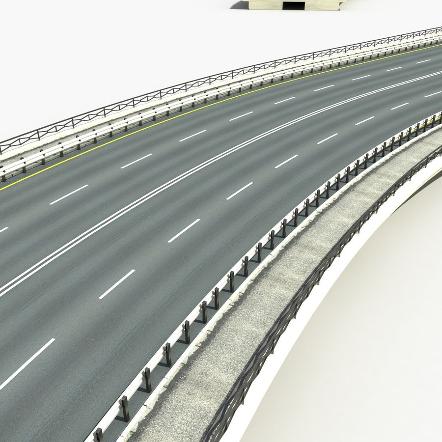 Roads royalty-free 3d model - Preview no. 8
