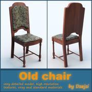 Eski sandalye 3d model