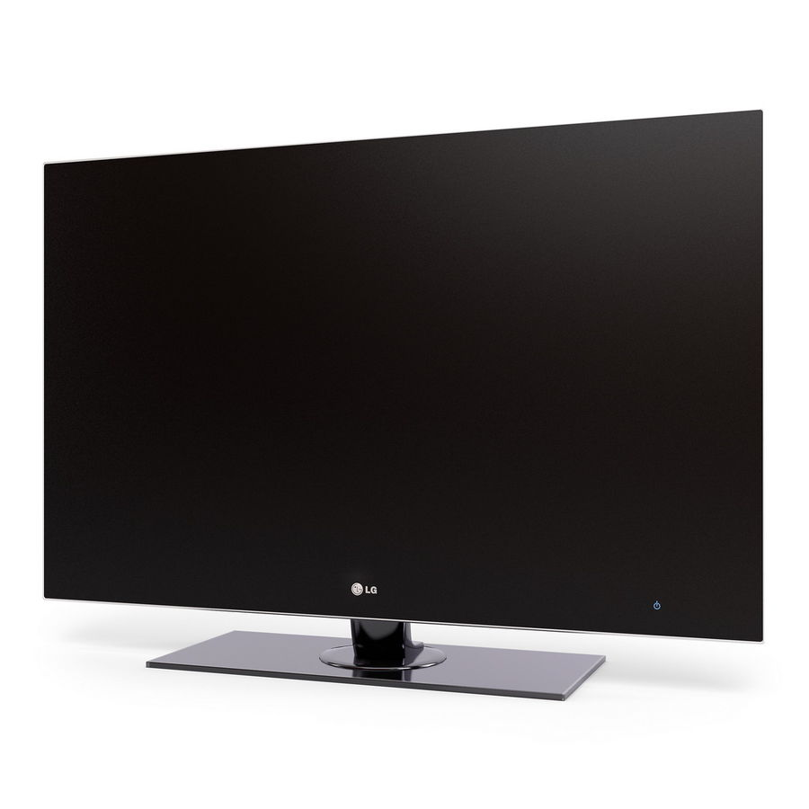 LG LED LCD TV royalty-free 3d model - Preview no. 4