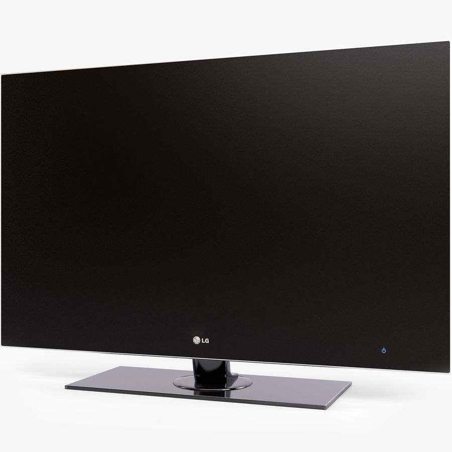 TV LCD LED LG royalty-free 3d model - Preview no. 1