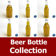 Beer Bottle Collection 3d model