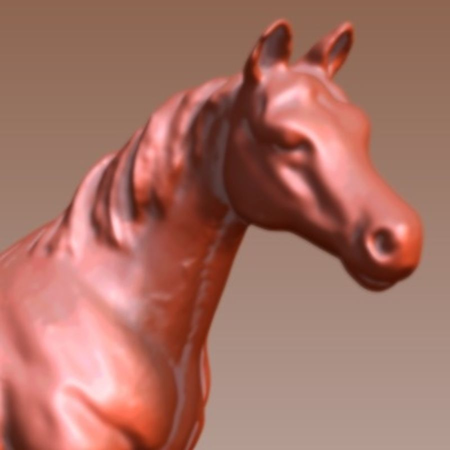 3d horse 6 royalty-free 3d model - Preview no. 4