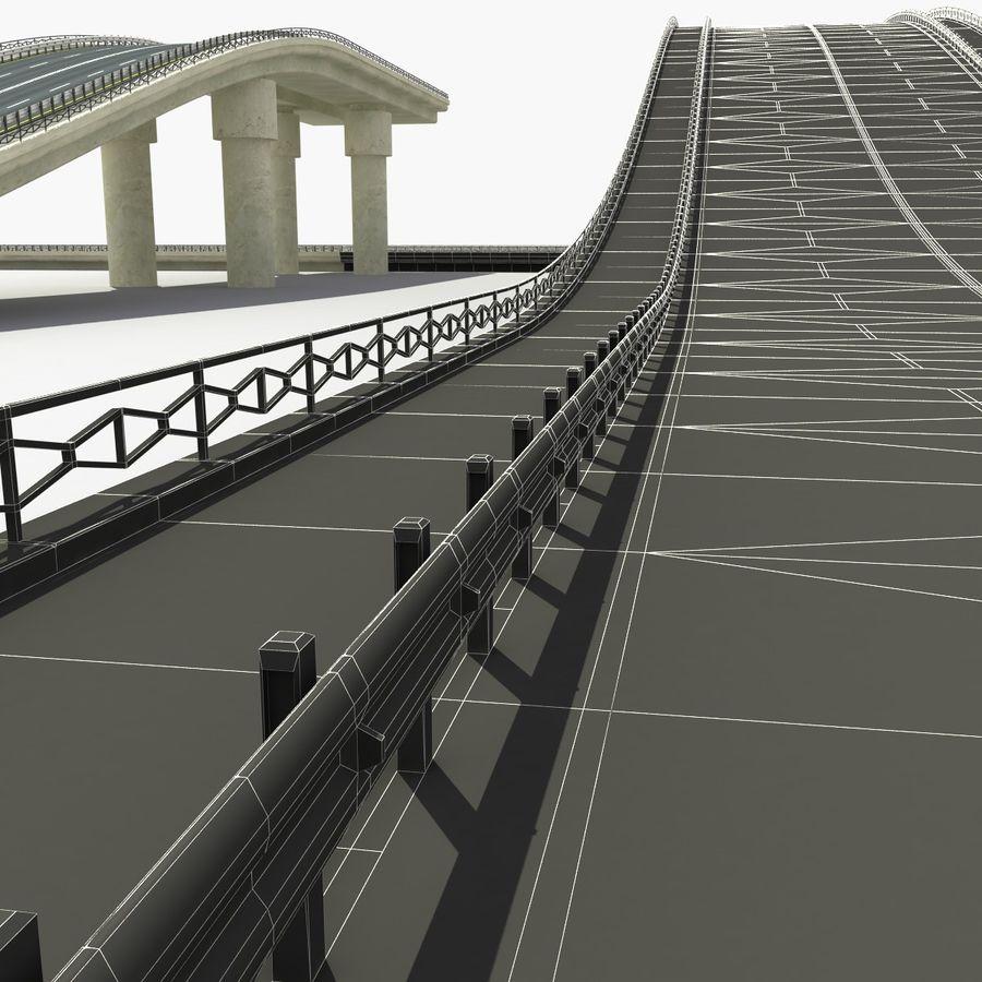 Bridges Roads royalty-free 3d model - Preview no. 12