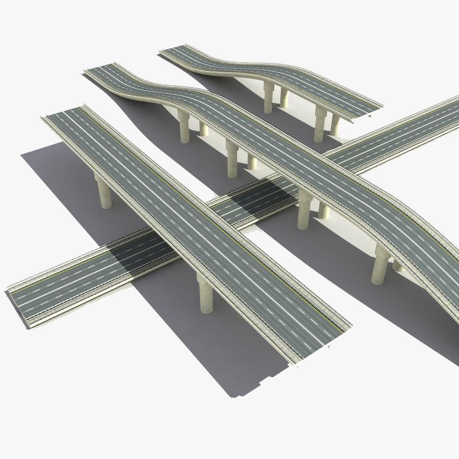 Bridges Roads royalty-free 3d model - Preview no. 1