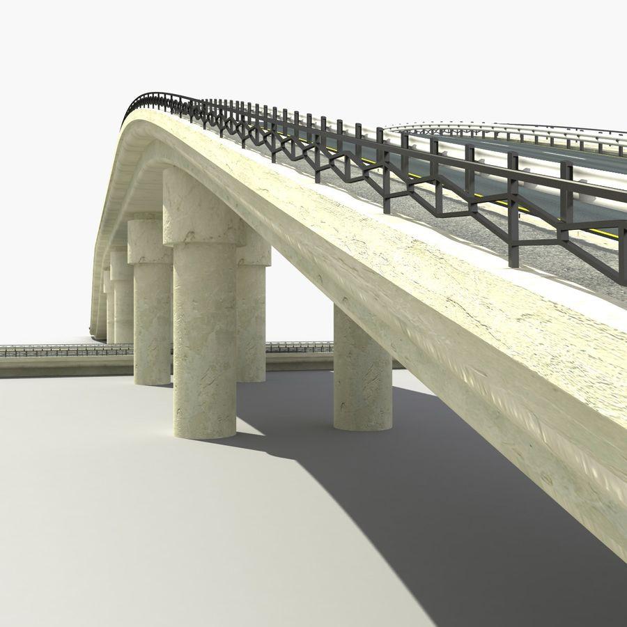 Bridges Roads royalty-free 3d model - Preview no. 6