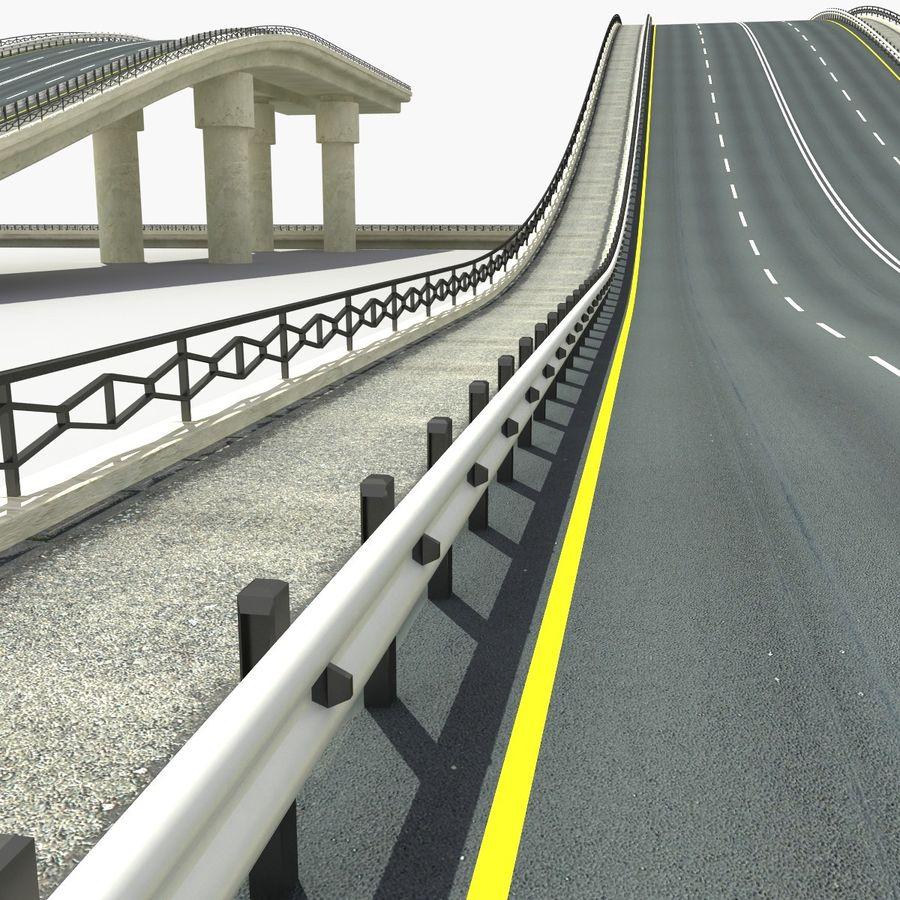 Bridges Roads royalty-free 3d model - Preview no. 5