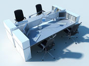OFFICE TABLE V2 3d model