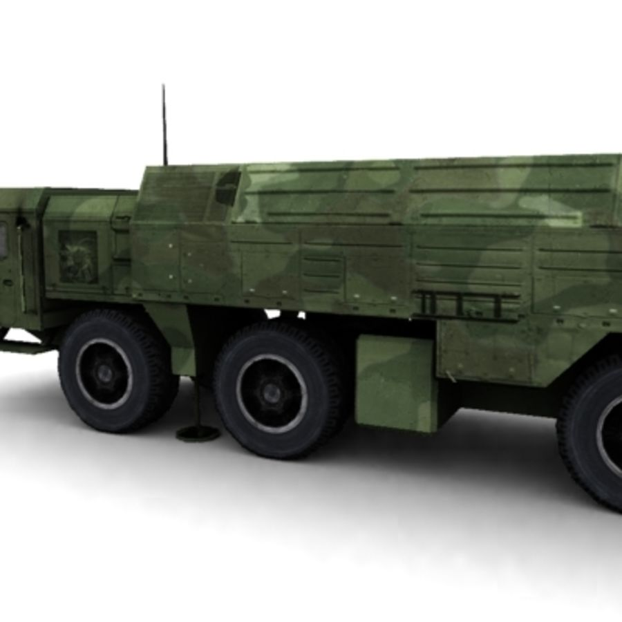Iskander SS-26 Stone royalty-free 3d model - Preview no. 3