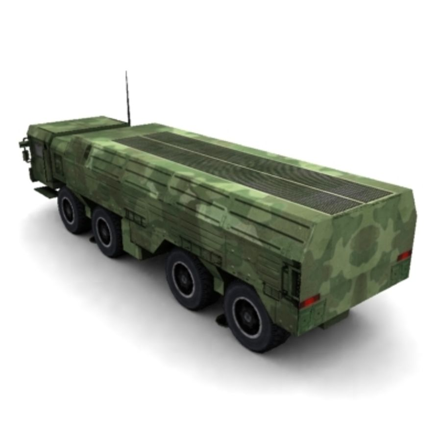Iskander SS-26 Stone royalty-free 3d model - Preview no. 4