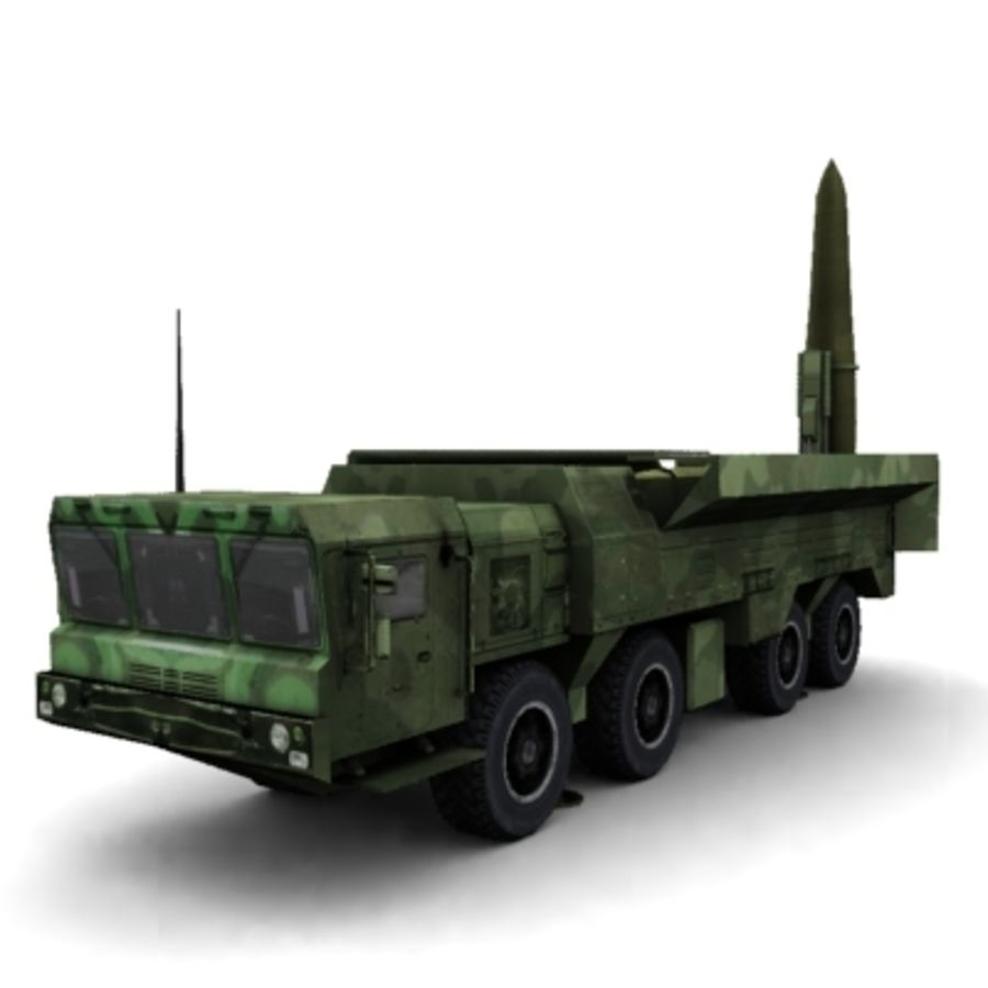 Iskander SS-26 Stone royalty-free 3d model - Preview no. 7
