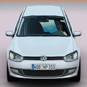 Volkswagen Polo 2010 3d model