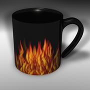 Coffee mug Collection 3d model