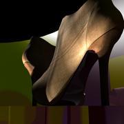 Scarpe da donna con tacco alto 3d model