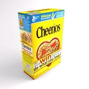 BOX OF CEREAL 3d model