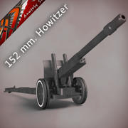 152 mm howitzer-gun ML-20 3d model