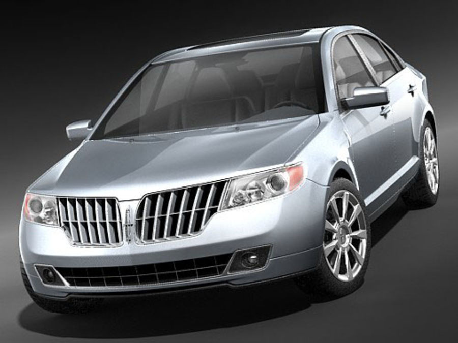 Lincoln MKZ royalty-free 3d model - Preview no. 4