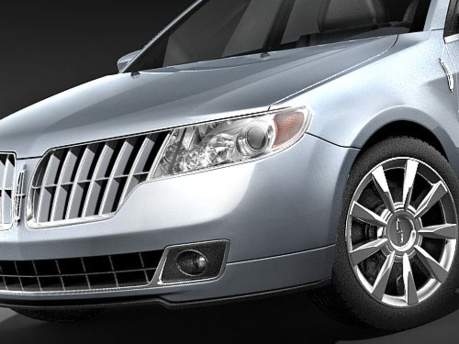 Lincoln MKZ royalty-free 3d model - Preview no. 5