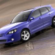 Mazda 3 hatchback 2004 modelo 3d
