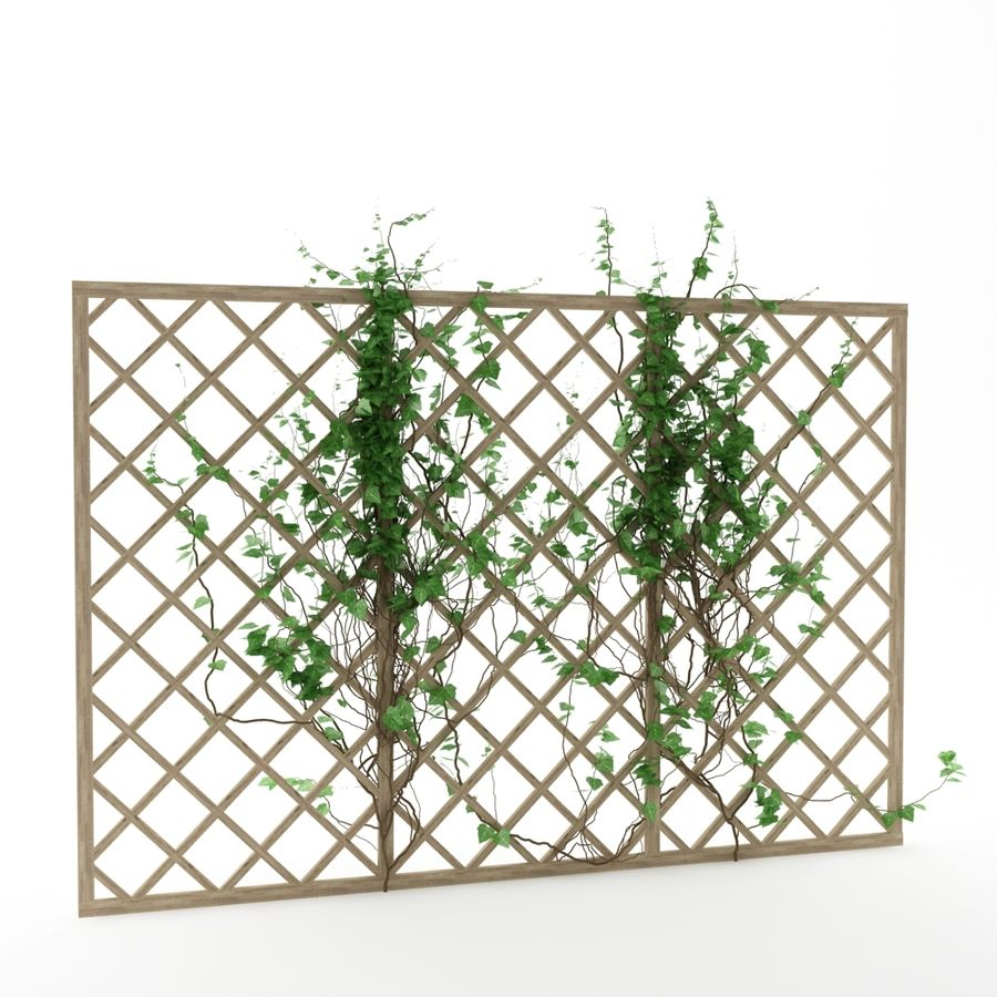 pergola_07 royalty-free 3d model - Preview no. 3