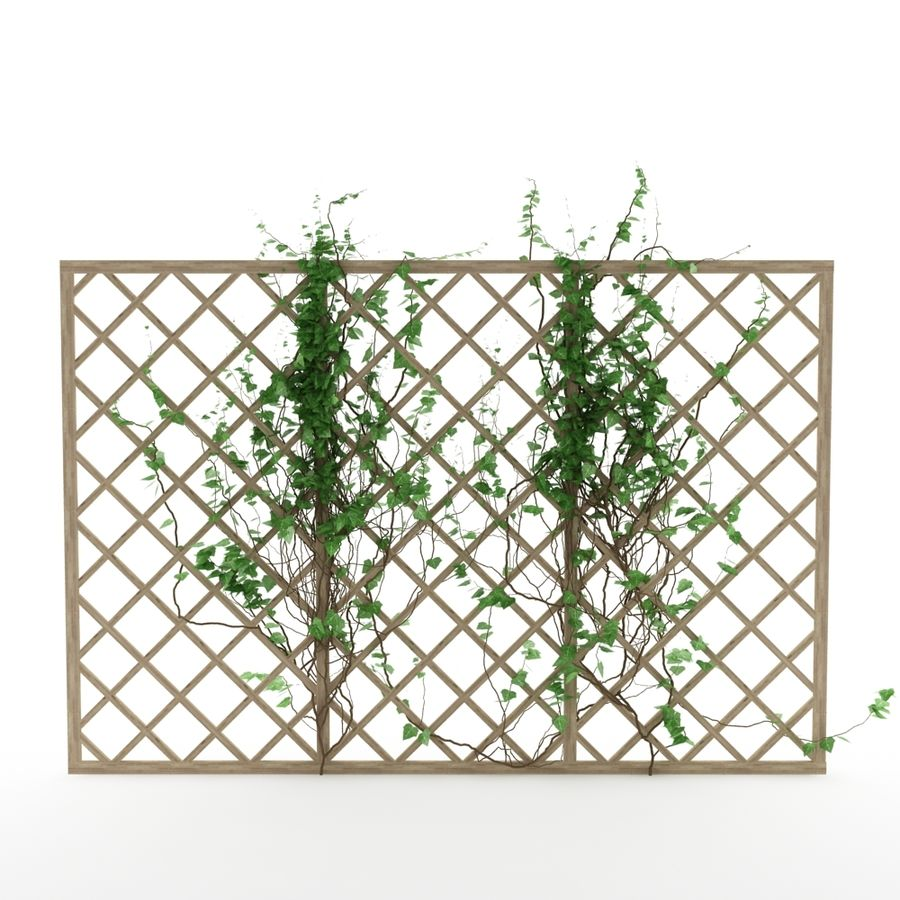 pergola_07 royalty-free 3d model - Preview no. 2