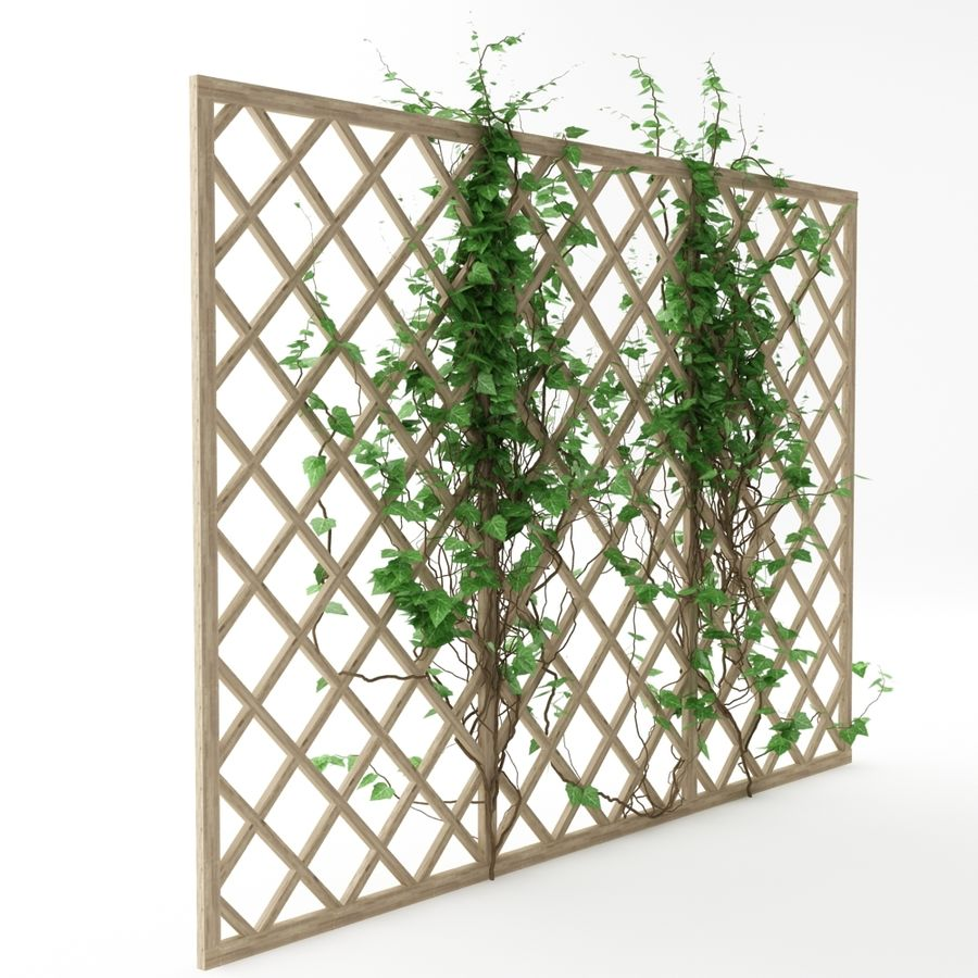 pergola_07 royalty-free 3d model - Preview no. 4