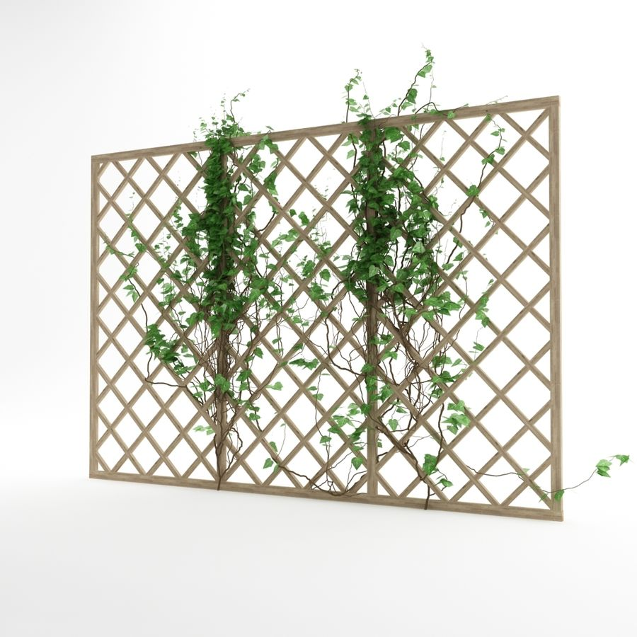 pergola_07 royalty-free 3d model - Preview no. 1