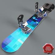 Snowboard V4 3d model