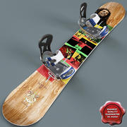 Snowboard V3 3d model