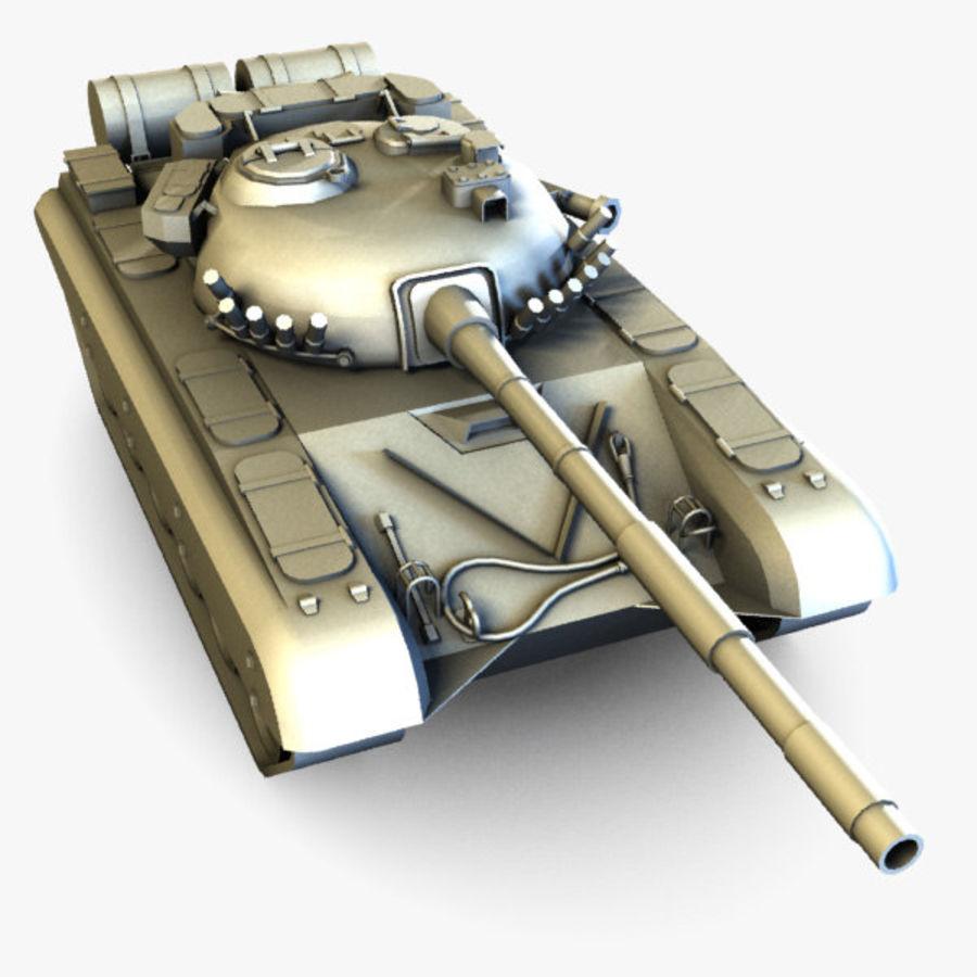 T72 Tank royalty-free 3d model - Preview no. 3