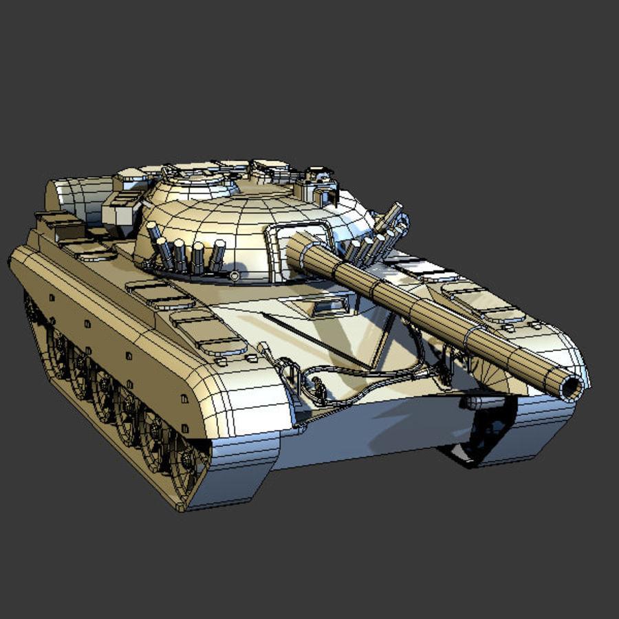 T72 Tank royalty-free 3d model - Preview no. 9