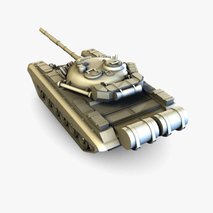 T72 Tank royalty-free 3d model - Preview no. 4