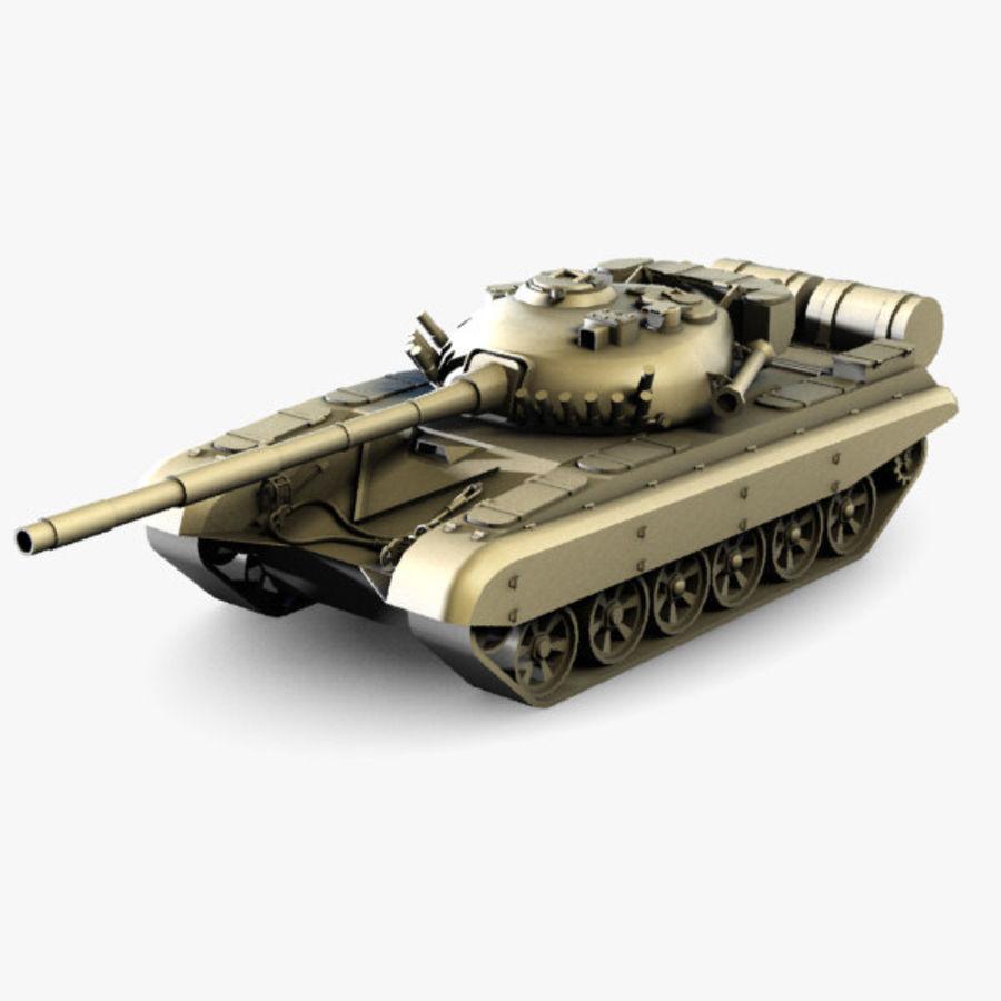 T72 Tank royalty-free 3d model - Preview no. 5
