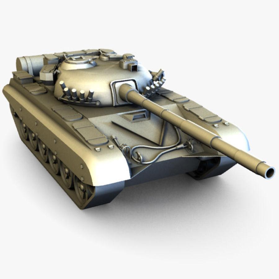 T72 Tank royalty-free 3d model - Preview no. 1