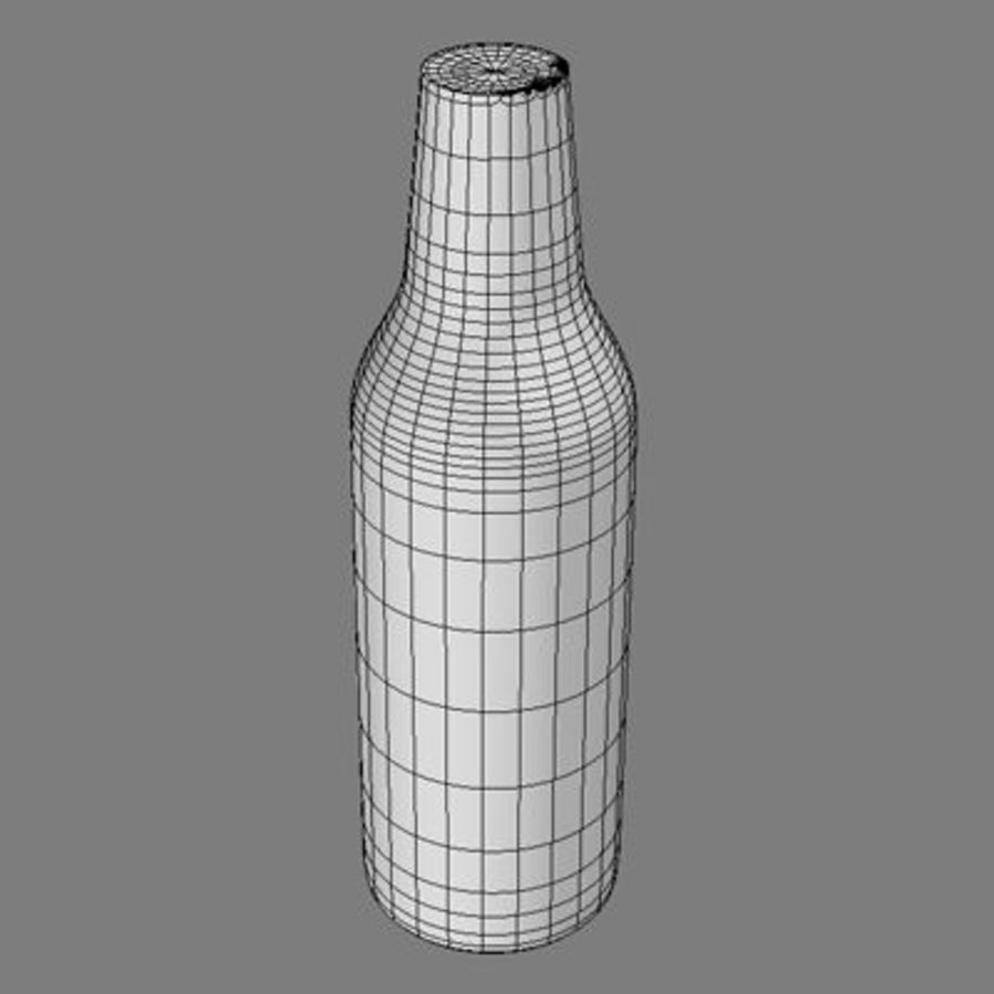 beer bottle heineken royalty-free 3d model - Preview no. 10