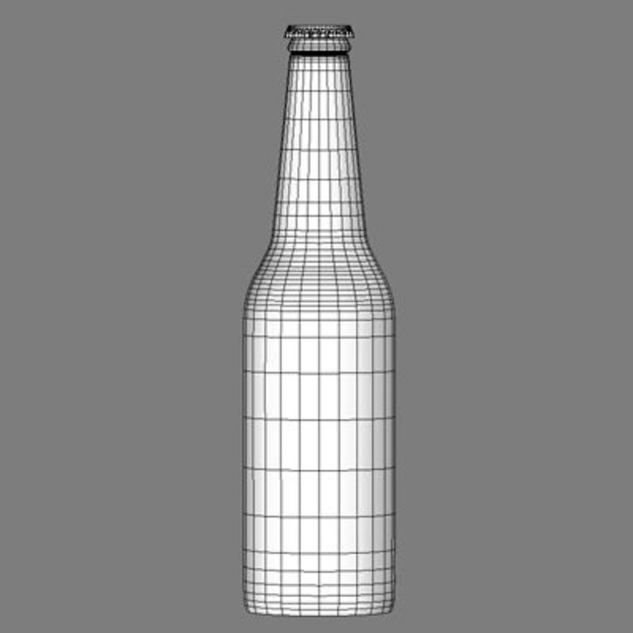 beer bottle heineken royalty-free 3d model - Preview no. 8