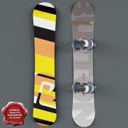 Сноуборд V1 3d model