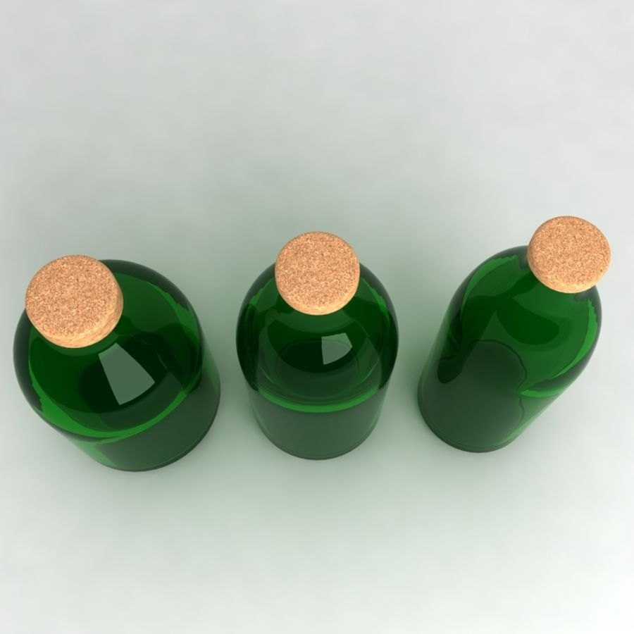 Bottles Collection royalty-free 3d model - Preview no. 10