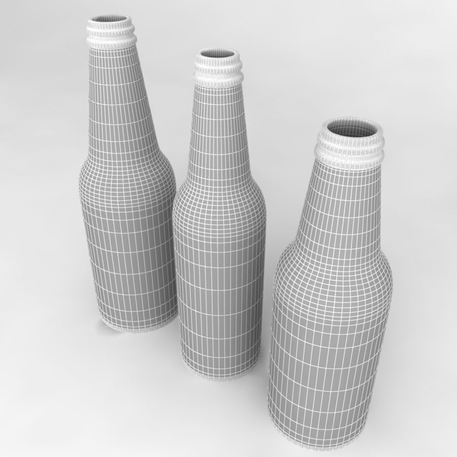 Bottles Collection royalty-free 3d model - Preview no. 34