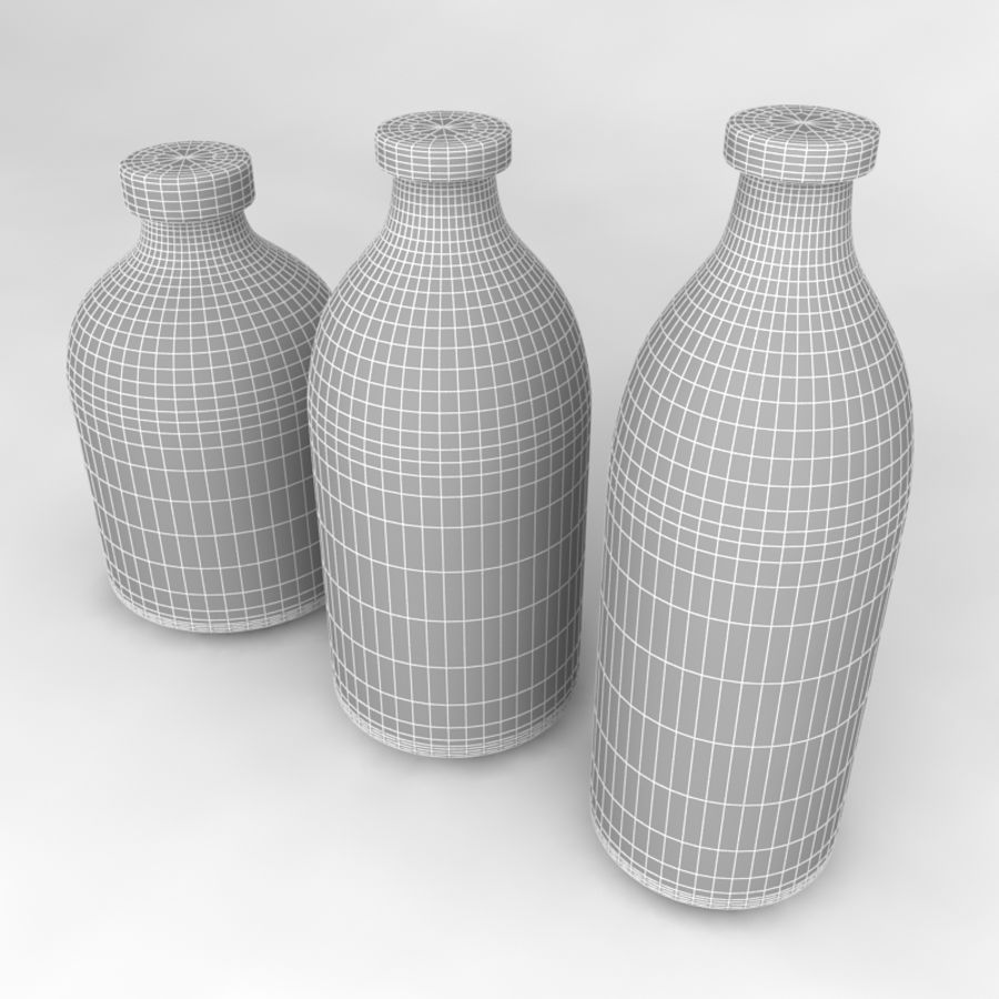 Bottles Collection royalty-free 3d model - Preview no. 39